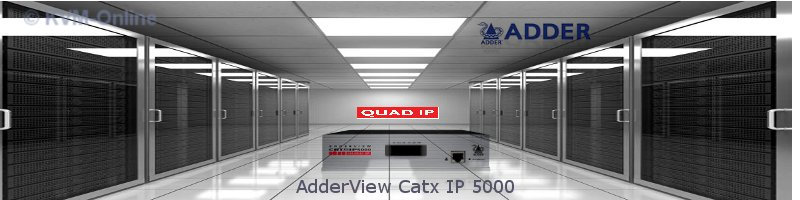 AdderView Catx IP 5000 - 4 simultane IP User